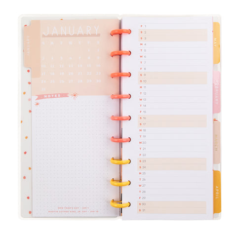 2021 Yay Seasons Skinny Classic Horizontal Happy Planner® - 12 Months