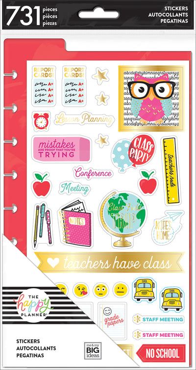 Teacher - Dashboard Stickers