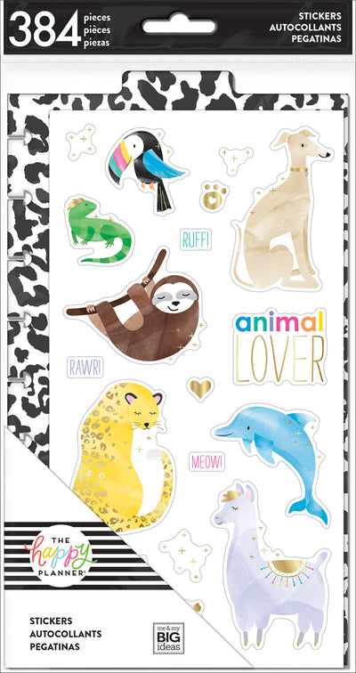Dashboard Stickers - Animals