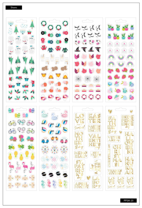 Petite Sticker Sheets - Love This Season