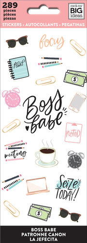 Sticker Sheets - Boss Babe