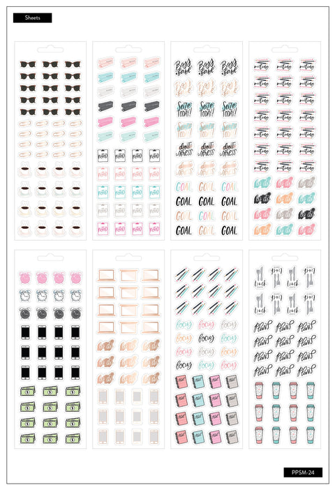 Petite Sticker Sheets - Boss Babe