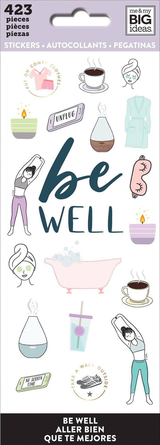 Sticker Sheets - Be Well