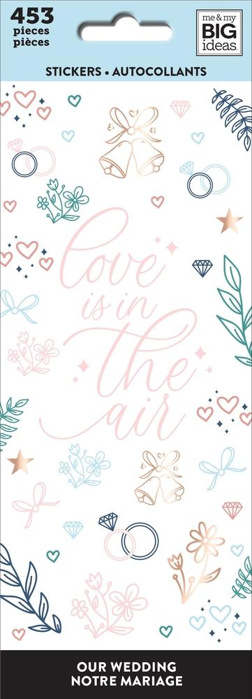 Petite Sticker Sheets - Wedding