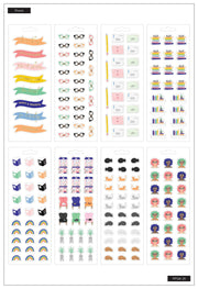 Petite Sticker Sheets - Bookish
