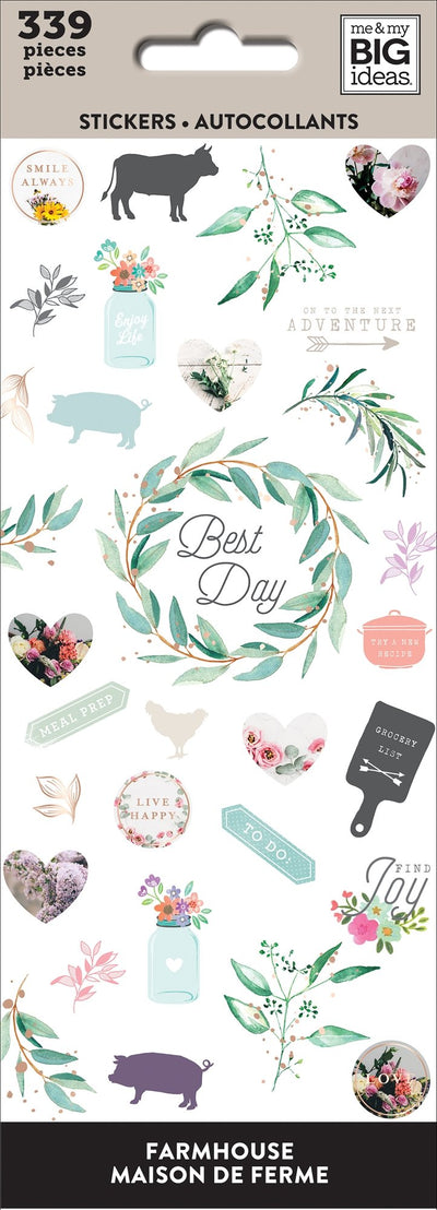 Petite Sticker Sheets - Farmhouse