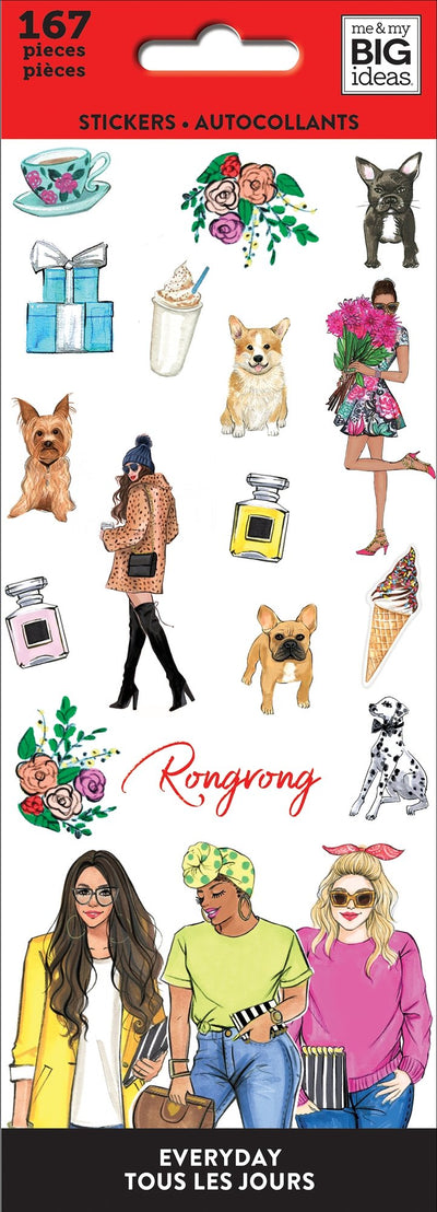 Petite Sticker Sheets - Rongrong - Plan A Life You Love