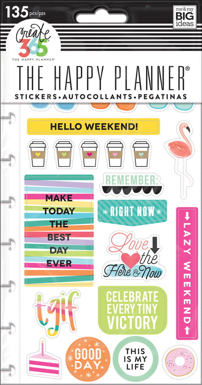 Planner Stickers - TGIF