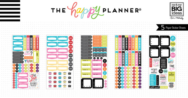 Planner Stickers - What's for Dinner?