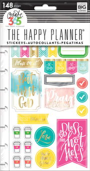 Planner Stickers - Faith Gratitude