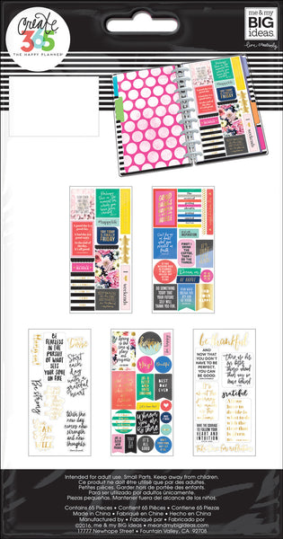 Planner Stickers - Happy Life