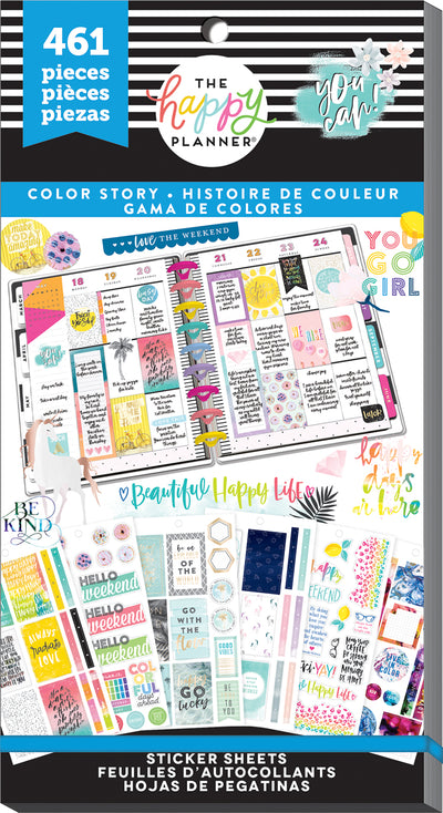 Value Pack Stickers -Color Story 3