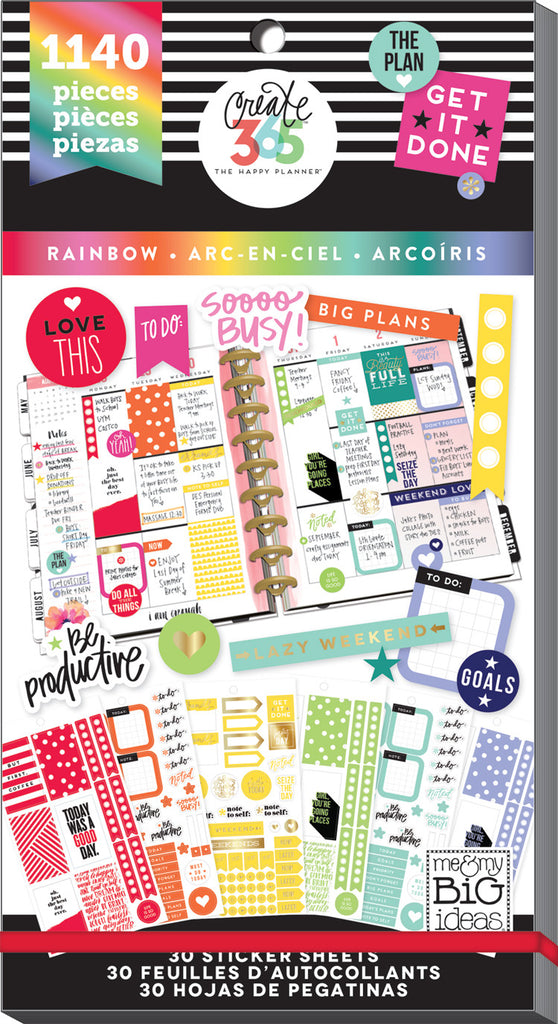 creative ways to use Happy Planner® stickers by mambi Design Team member  Mariel Reyes |