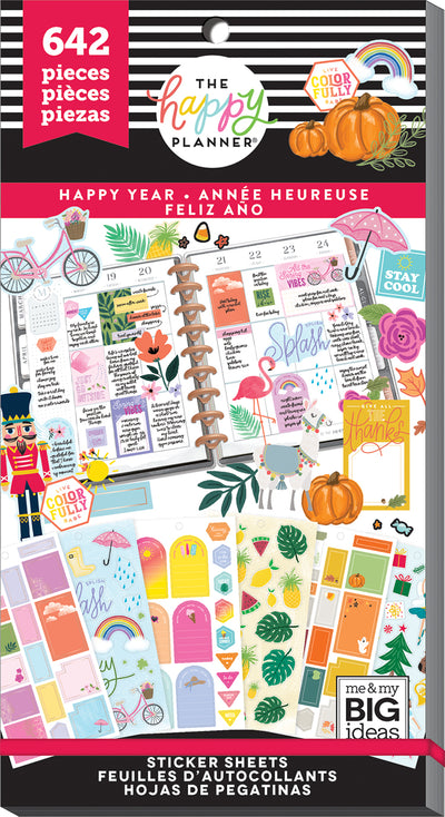 Value Pack Stickers - Happy Year
