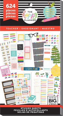 Mambi Happy Planner Journaling Stickers 22 Pieces 'budget' Calendars & Planners