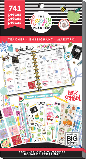 Value Pack Stickers - Teacher - One Happy Year