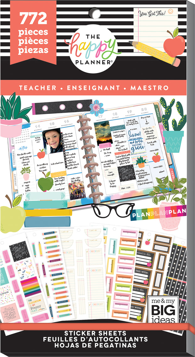 Value Pack Stickers - Teacher