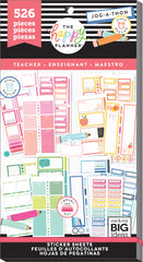 Value Pack Stickers - BIG Teacher - Colorful Boxes