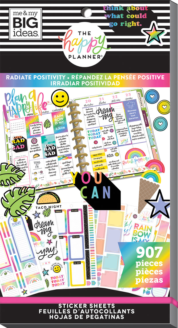 Value Pack Stickers - Radiate Positivity