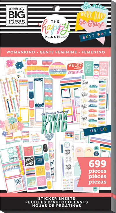Value Pack Stickers - Womankind