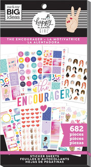 Value Pack Stickers - Encourager