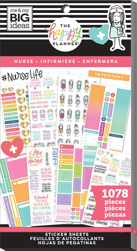 Value Pack Stickers - Nurse