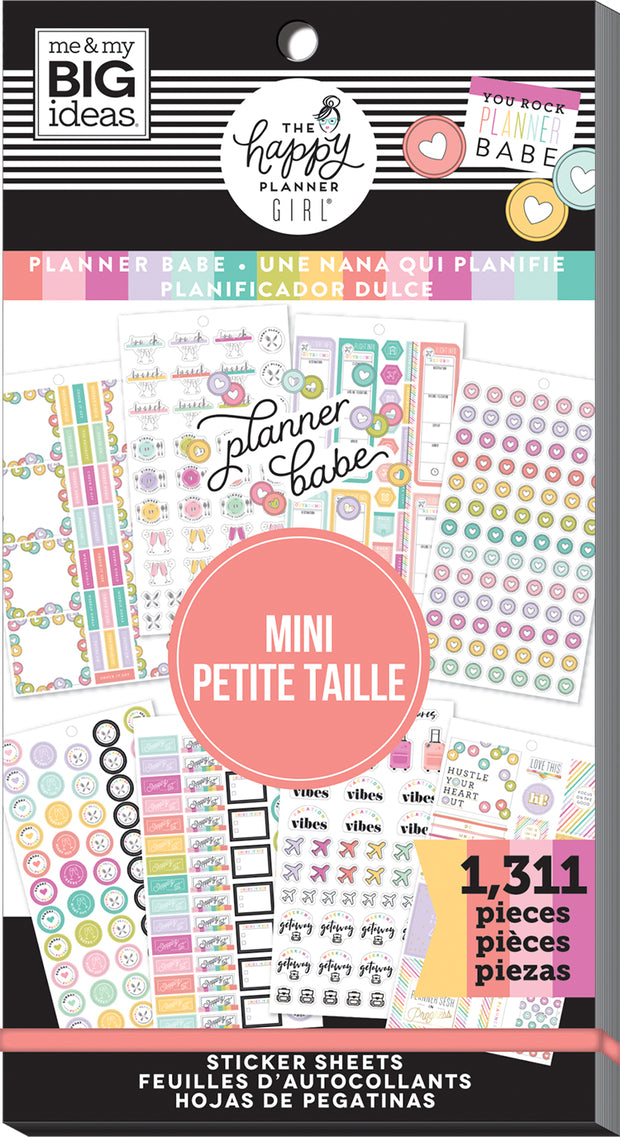 Value Pack Stickers - Planner Babe - Mini