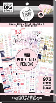 Value Pack Stickers -  Glam Girl - Mini