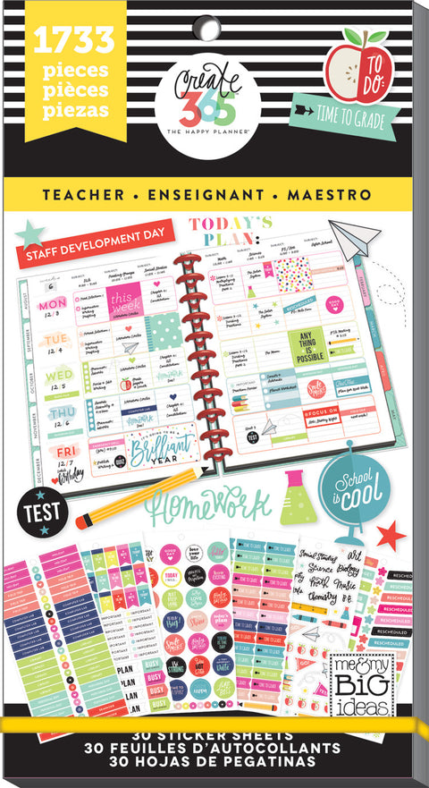Value Pack Stickers - Teacher - BIG