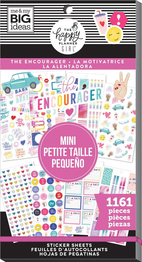 Value Pack Stickers - Encourager - Mini