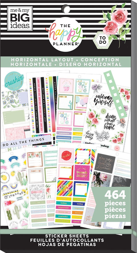 Value Pack Stickers - Horizontal