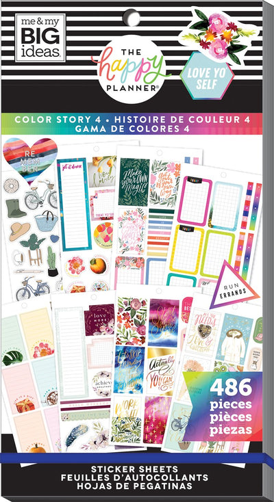 Value Pack Stickers - Color Story 4