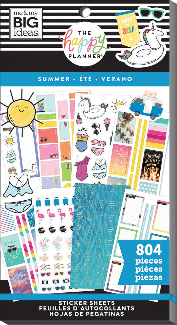 Value Pack Stickers - Summer