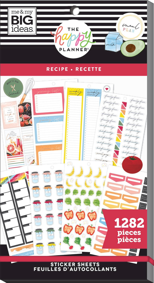 COMING SOON - Value Pack Stickers - Recipe