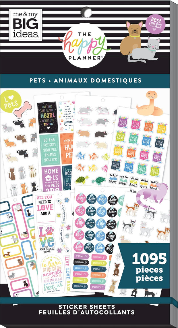 COMING SOON - Value Pack Stickers - Fur Babies