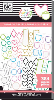 COMING SOON - Value Pack Stickers - Colorful Shapes