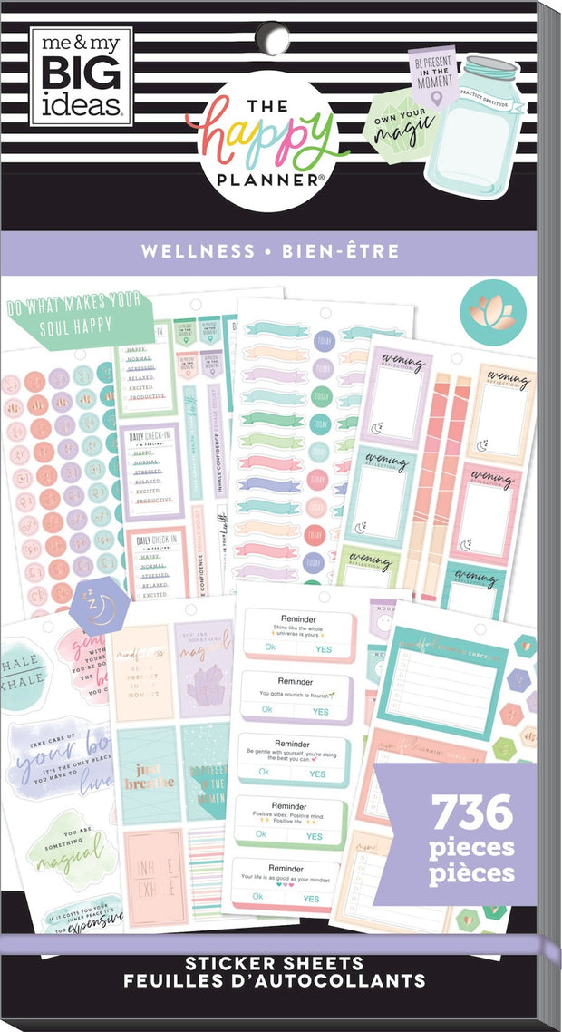 COMING SOON - Value Pack Stickers - Wellness
