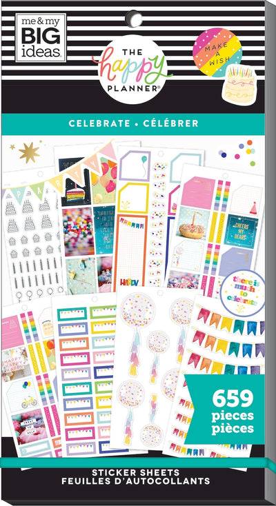 COMING SOON - Value Pack Stickers - Celebrate
