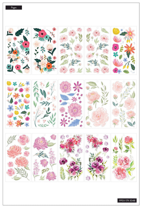 Value Pack Stickers - Flowers
