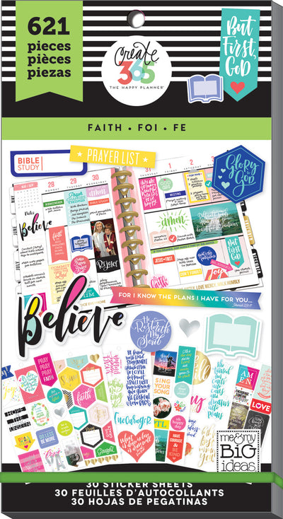 Value Pack Stickers - Faith