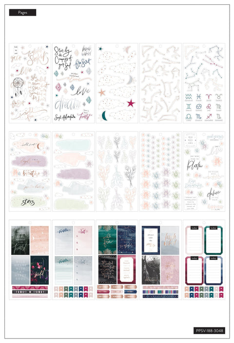 Value Pack Stickers - Boho - BIG