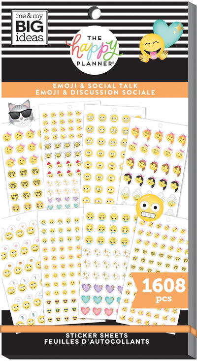 Value Pack Stickers - Emoji & Social Talk