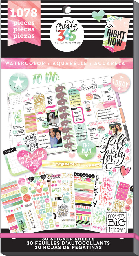 Value Pack Stickers - Watercolor