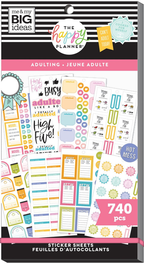 Value Pack Stickers - Adulting