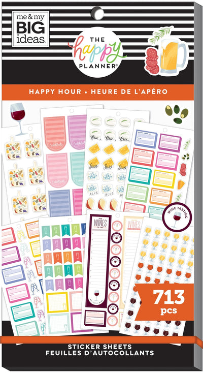 Value Pack Stickers - Happy Hour