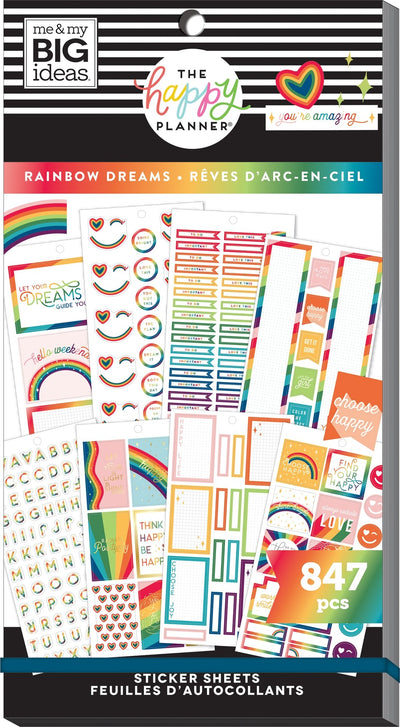 Value Pack Stickers - Rainbow Dreams