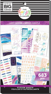 Value Pack Stickers - Modern Geode