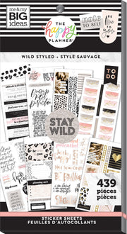 Value Pack Stickers - Wild Styled