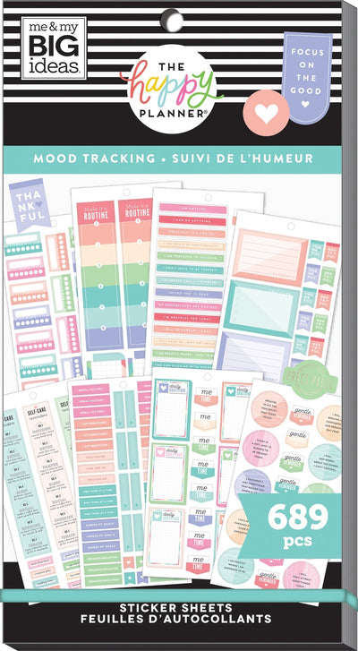Value Pack Stickers - Mood Tracker and Mental Health