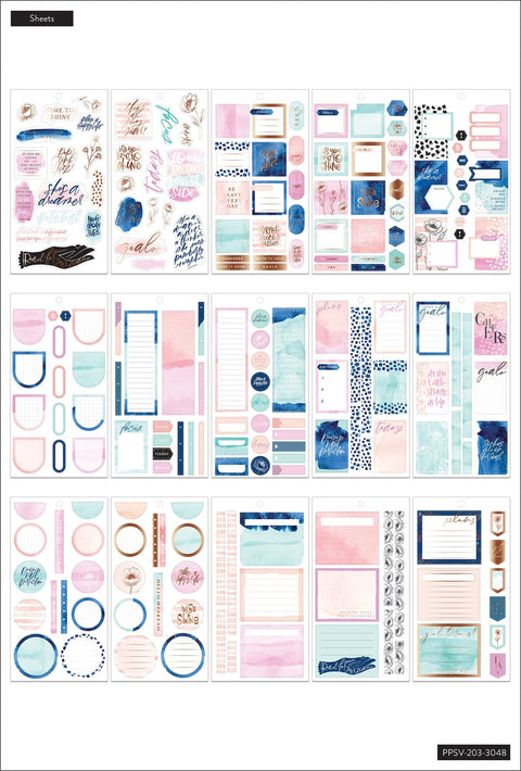 Value Pack Stickers - Year to Shine Goals